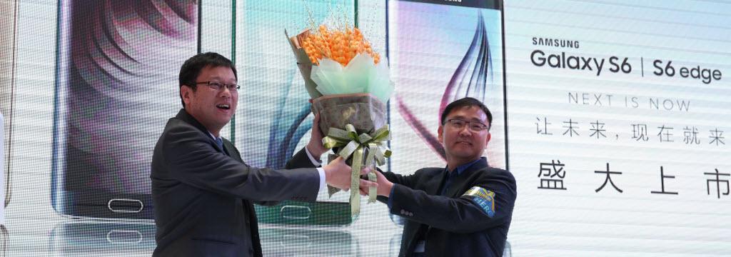 三星S6霸气登陆 乐语通讯全国首销